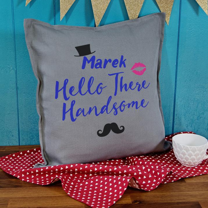 Hello handsome - Poduszka dekoracyjna