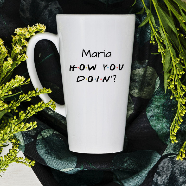 How you doin`? - Personalisierte Tasse