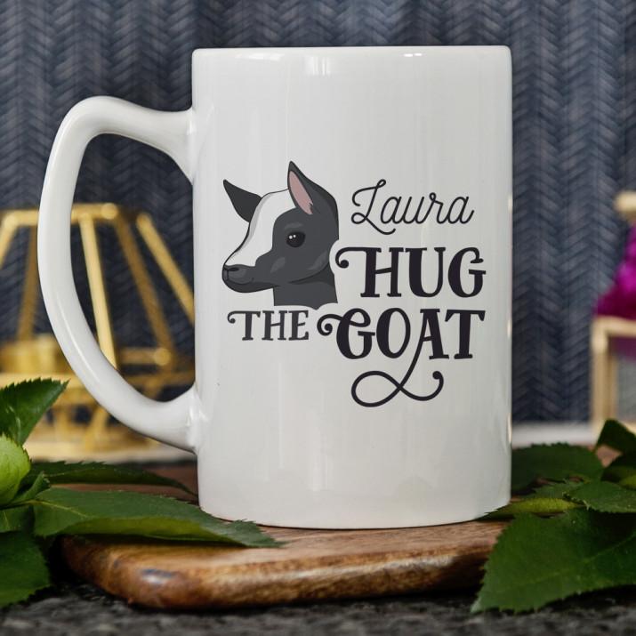 Hug the goat - Personalisierte Tasse