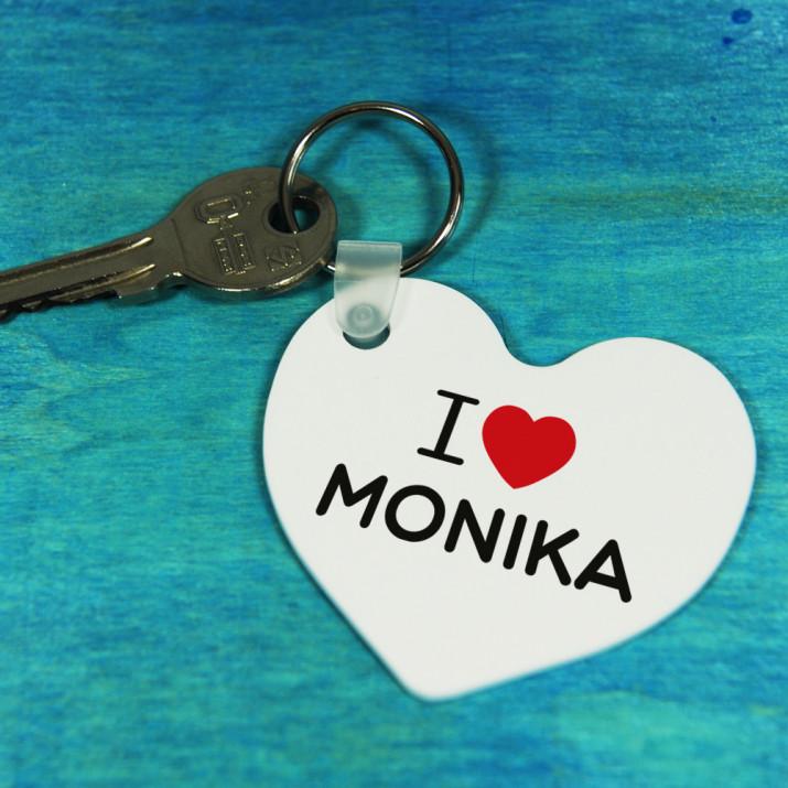 I Love ... - brelok do kluczy