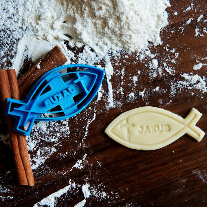 Ichthys - personalizowana foremka 3D do ciastek