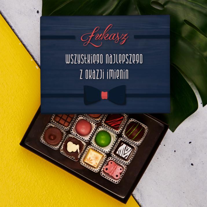 Imieniny - Praliny z belgijskiej czekolady