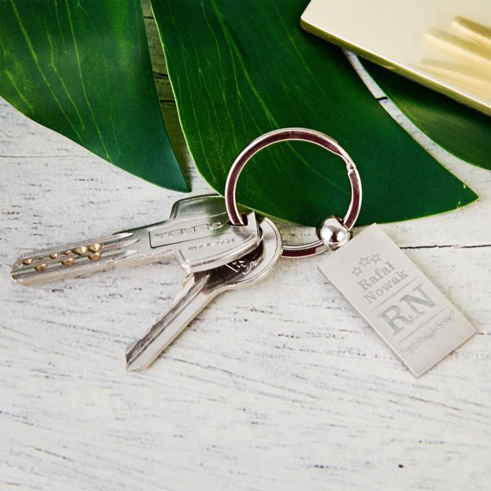 Inicjały - Brelok do kluczy