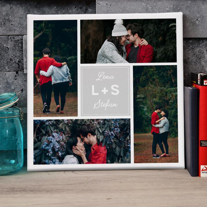 Inicjały - Kolaż ze zdjęć