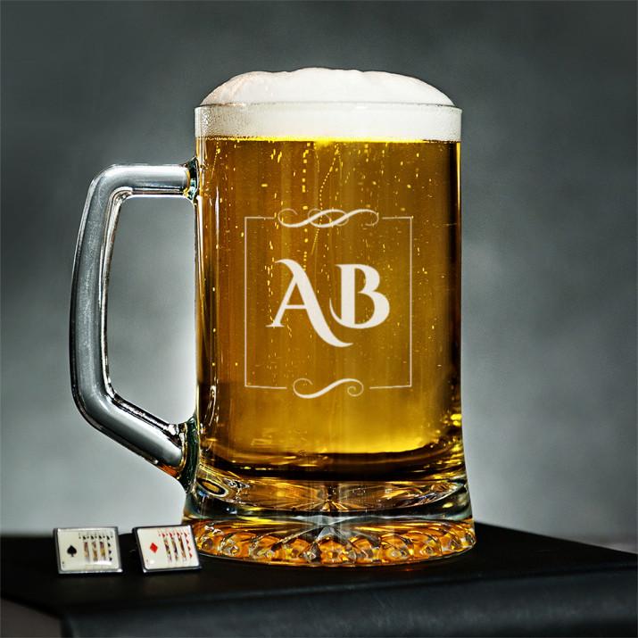 Inicjały - Kufel na piwo