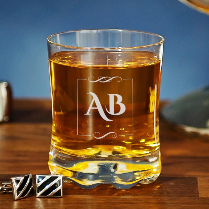 Inicjały - Szklanka do whisky