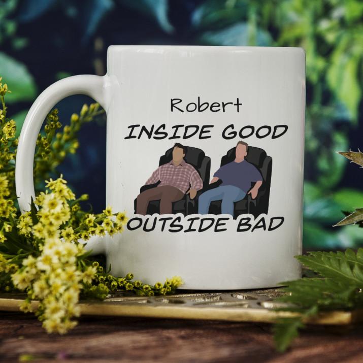 Inside good - personalisierte Tasse
