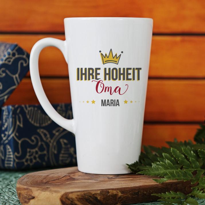 Ihre Hoheit Oma - personalisierte Tasse