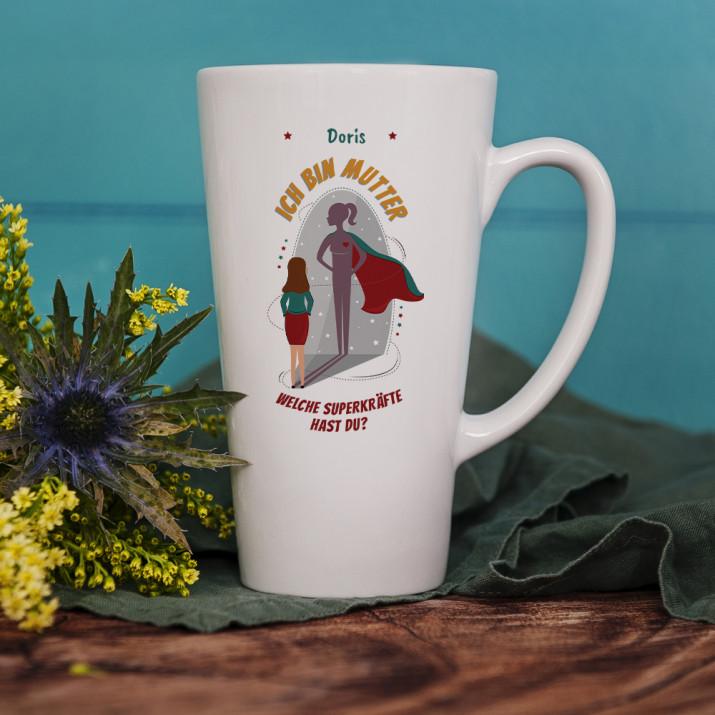 Ich bin Mutter - personalisierte Tasse