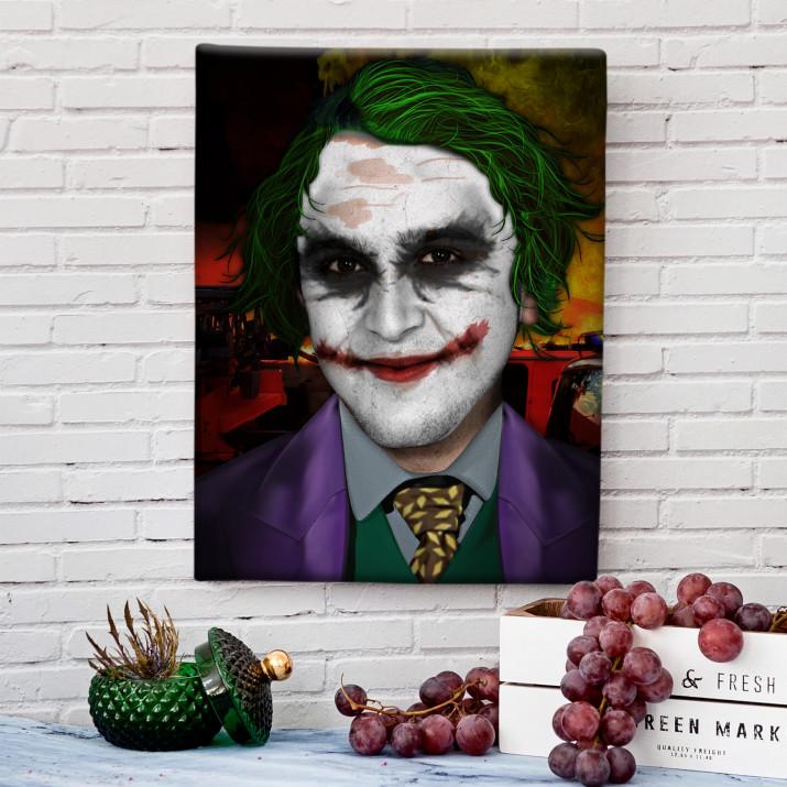 Joker - obraz z Twojego zdjęcia