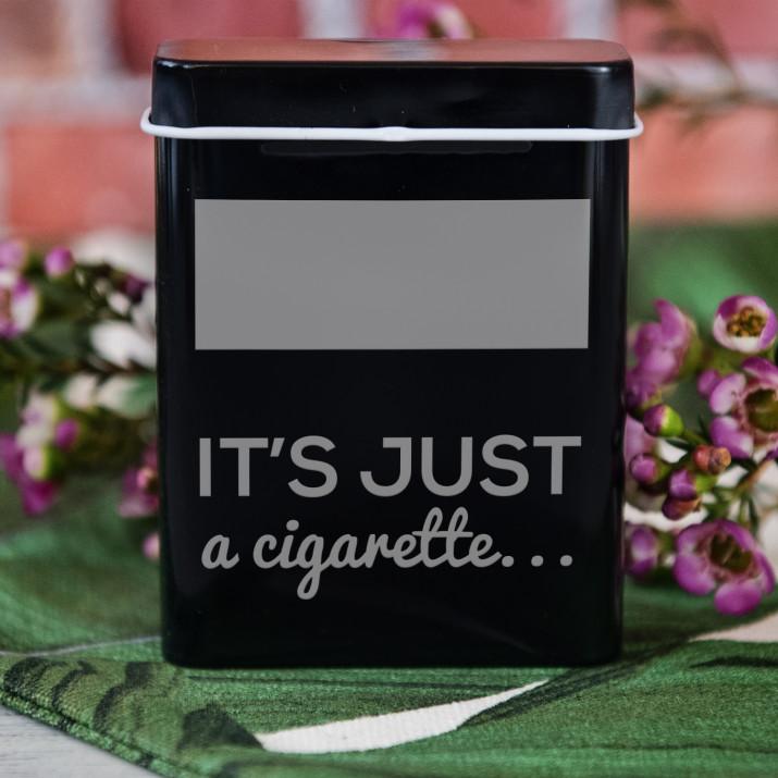 Just a cigarette - etui na papierosy z grawerem