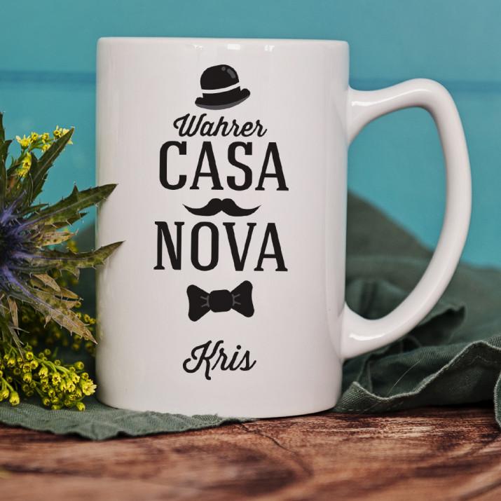 Casanova - personalisierte Tasse