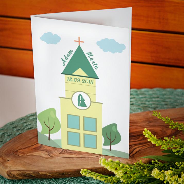 Katedra - kartka z życzeniami