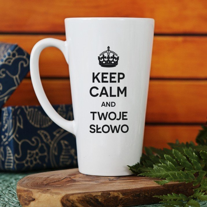 Keep Calm and ... - Personalizowany Kubek