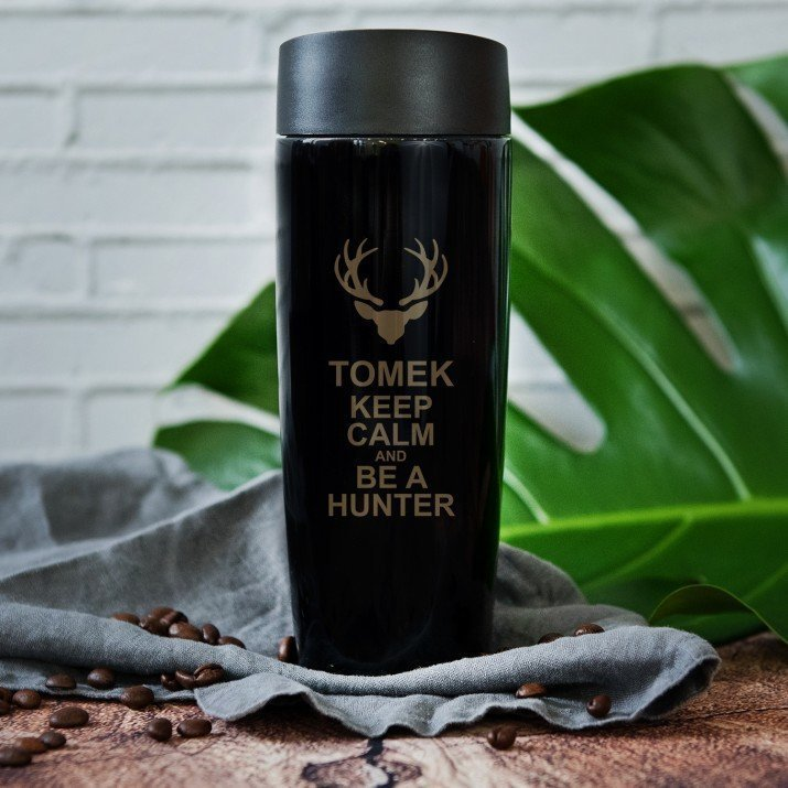 Keep calm - kubek termiczny
