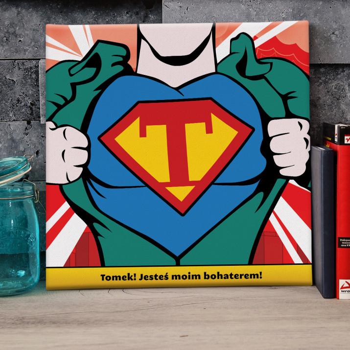 Klata SuperMana - obraz na płótnie