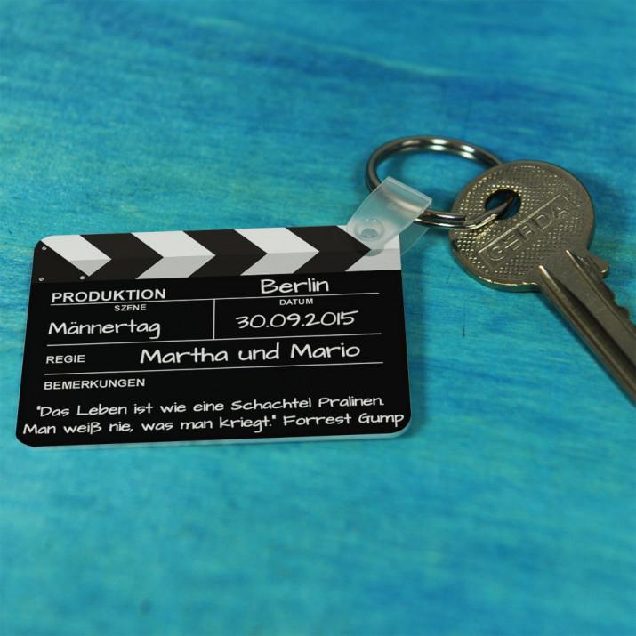 Klappe - Schlüsselanhänger