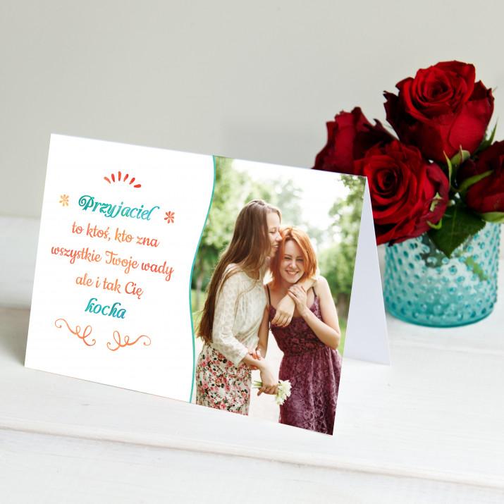 Kochający Przyjaciel - kartka z życzeniami