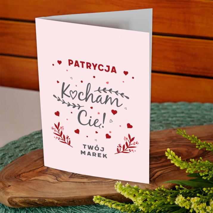 Kocham Cię 2 - kartka z życzeniami