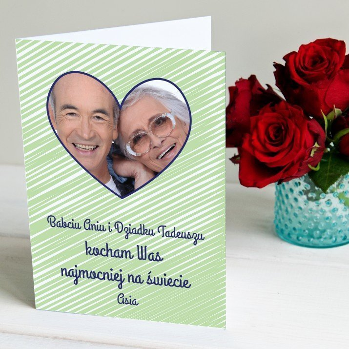 Kocham najmocniej - kartka z życzeniami