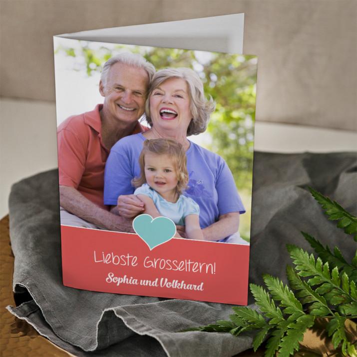 Liebste Großeltern - Glückwunschkarte