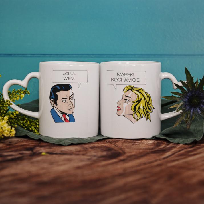 Komiks - Kubki dla pary