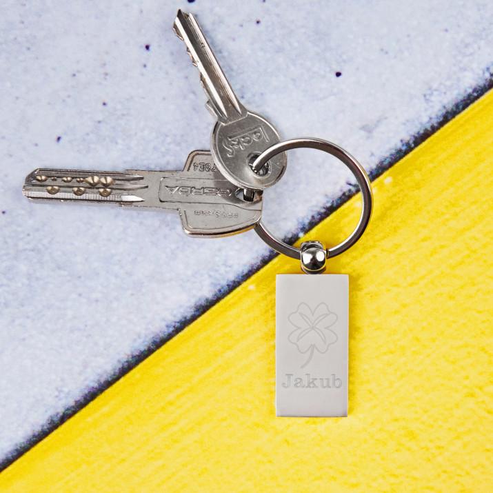 Koniczyna - Brelok do kluczy