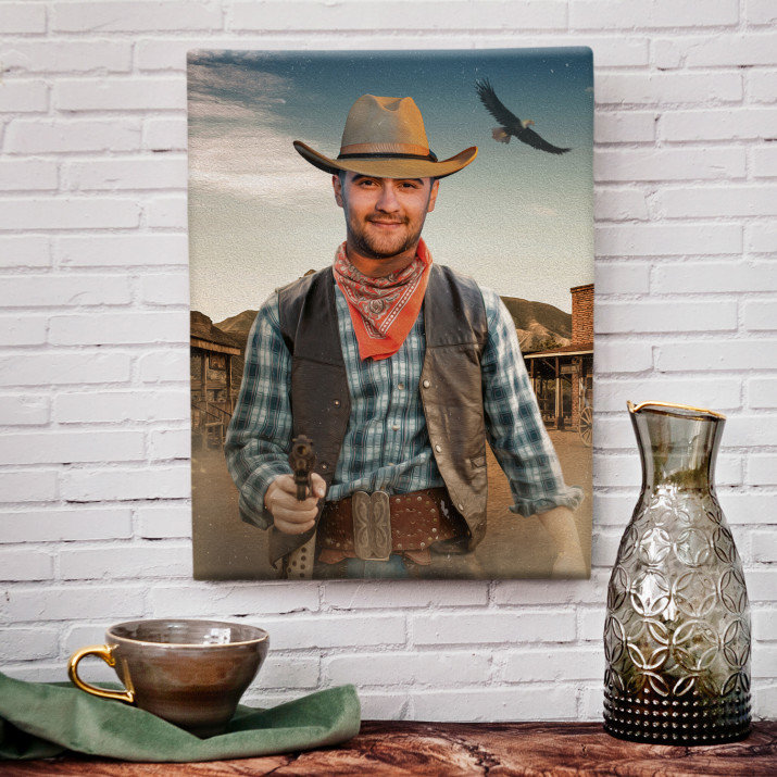Kowboj - Portret marzeń