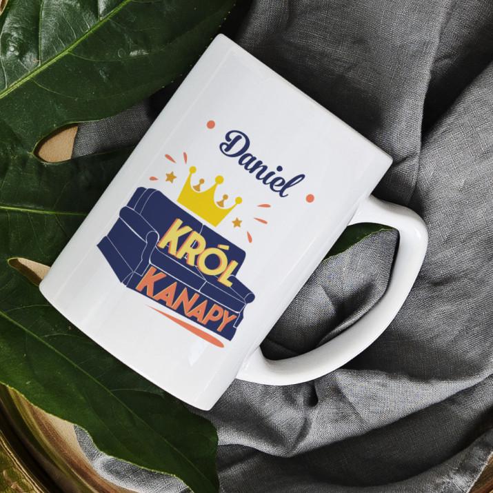 Król kanapy - Personalizowany Kubek