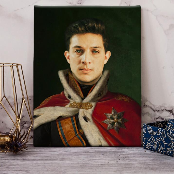König - Königsporträt