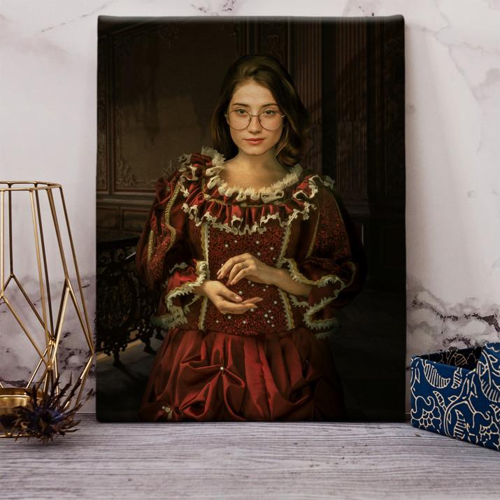 Królewna - Królewski portret