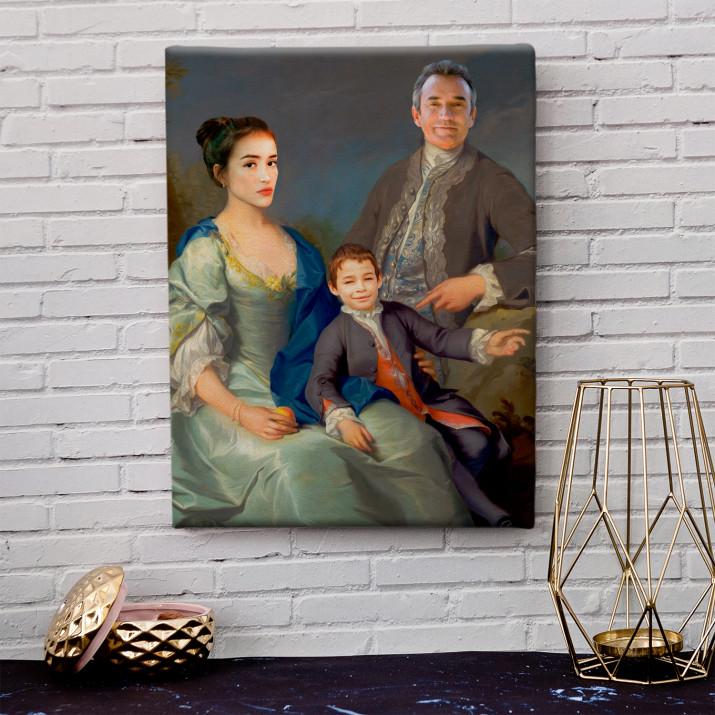 Königsfamilie - Königsporträt