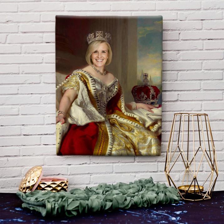 Królowa - Królewski portret