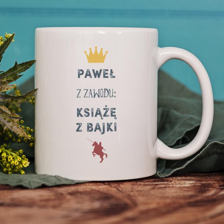 Książę z Bajki - kubek personalizowany
