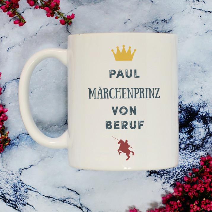 Märchenprinz - Personalisierte Tasse