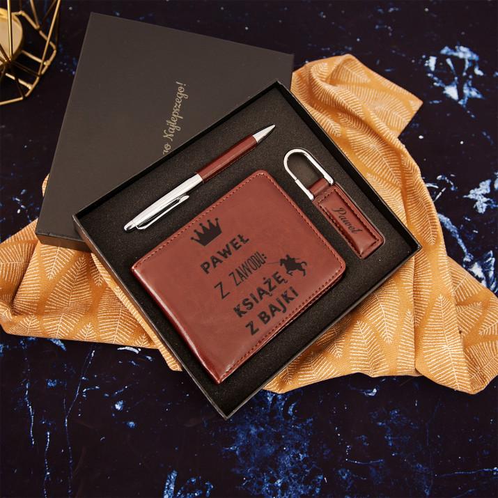 Książę z bajki - zestaw z portfelem