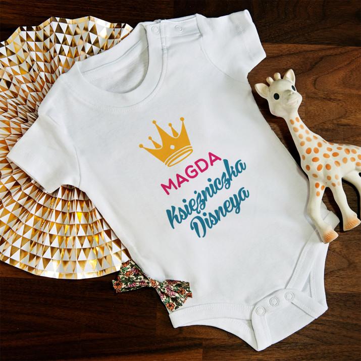 Księżniczka Disneya - body niemowlęce