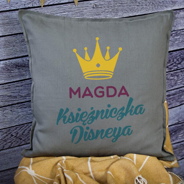 Księżniczka Disneya - Poduszka dekoracyjna