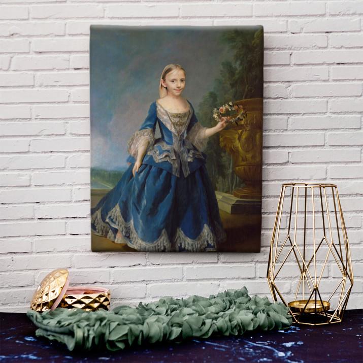 Prinzessin - Königsporträt