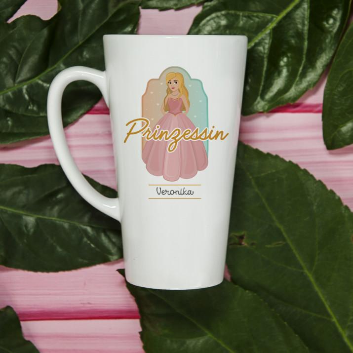 Prinzessin - personalisierte Tasse