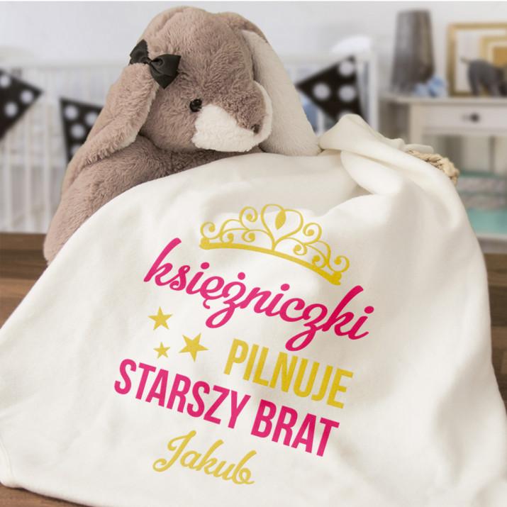 Księżniczki pilnuje - Ręcznik niemowlęcy