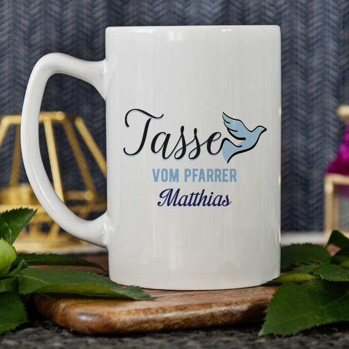 Tasse vom Pfarrer - personalisierte Tasse