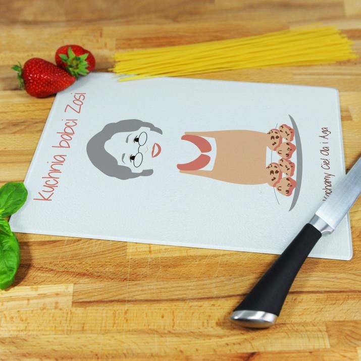 Kuchnia Babci - deska do krojenia