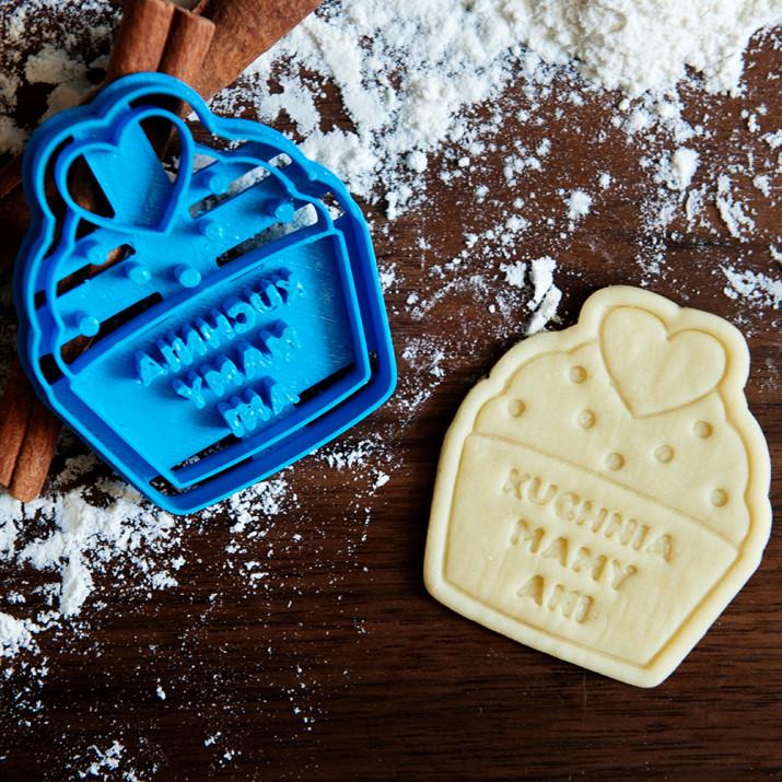 Kuchnia Mamy - personalizowana foremka 3D do ciastek