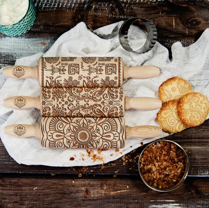Kultury świata - Zestaw 3 MINI Wałki do ciasta