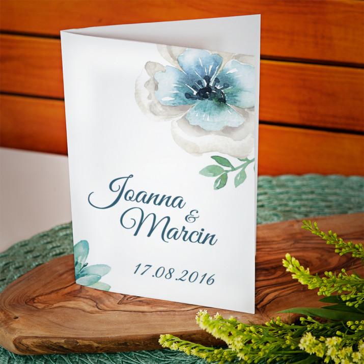 Kwieciste gratulacje - kartka z życzeniami