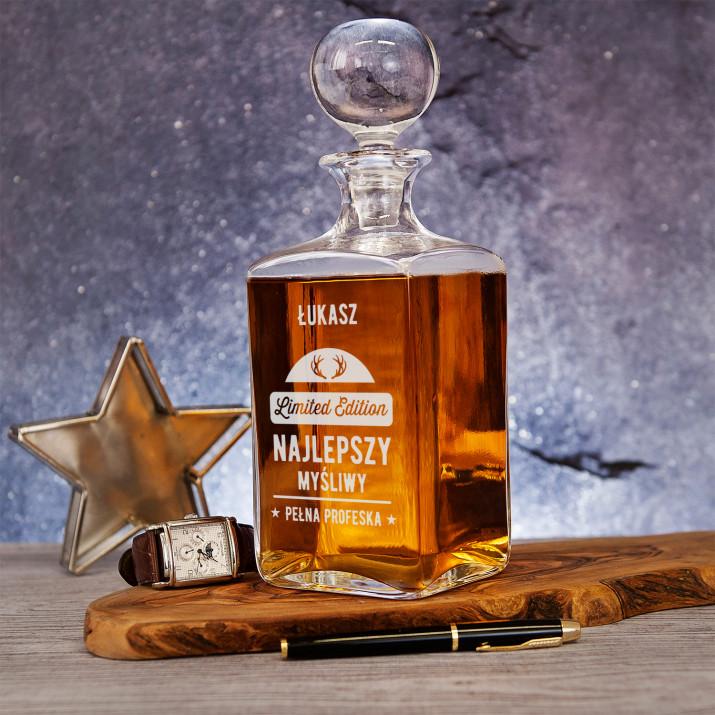 Limited edition - grawerowana karafka do whisky