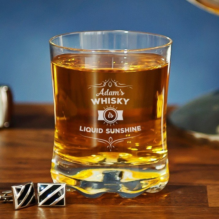 Liquid sunshine - Szklanka do whisky