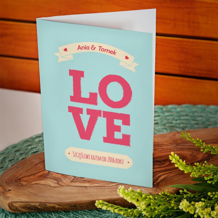 Love always - kartka z życzeniami