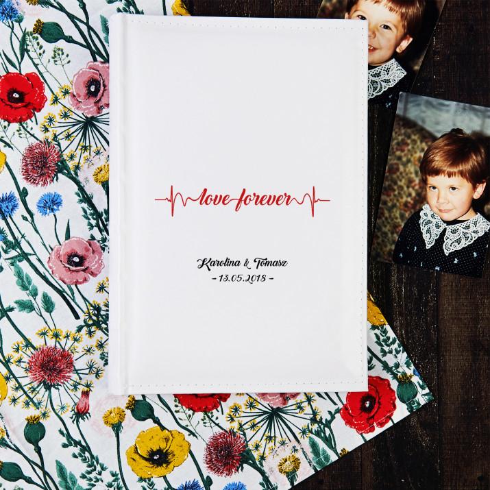 Love forever - Personalizowany Album na zdjęcia